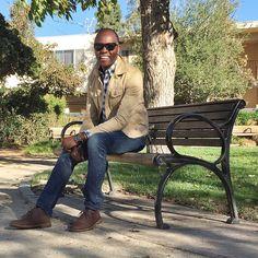 """""""Know what I am not""""   Leather Desert Boots - @ClarksShoes   484 Jeans - @Jcrew  Leather Belt - @Gap  Plaid Shirt - @Jcrew  Canvas Jacket - @Gap  Time Piece - @Timex  Bracelets - @OurSaints"""