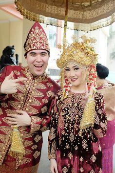 Pernikahan Dilla dan Saman di Jakarta