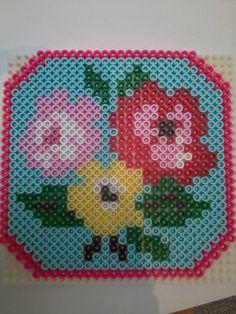 Cath kidston roses with hama beads