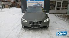 Vollfolierung an einem BMW- Anthrazit Grau matt! #Folierung #Anthrazit #BMW #Matt #Autofolierung #Vollfolierung #Kfolia #Magdeburg