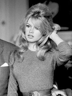 Brigitte Bardot Hair.   Megan Monroes