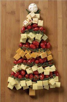 Decorazione-di-alimentari-vassoi-di-cibo-per-albero di Natale-freddo