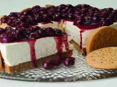 Cheesecake με Digestive Παπαδοπούλου Pastry Recipes, Sweets Recipes, Cake Recipes, Cooking Recipes, Greek Desserts, Party Desserts, Sweets Cake, Cupcake Cakes, Cupcakes