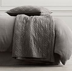 Linens for new bed. Quilts & Coverlets | Restoration Hardware