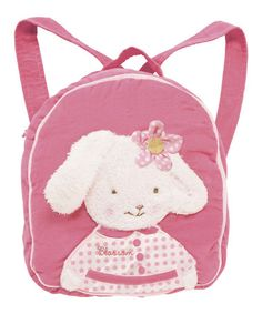 Look what I found on #zulily! Pink Blossom Backpack by Bunnies by the Bay #zulilyfinds