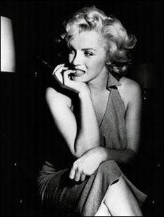 Marilynn Monroe.