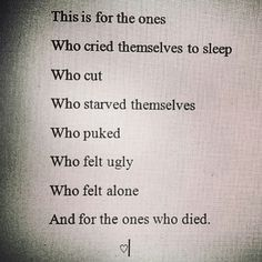 sad quotes about cutting yourself - Google Search