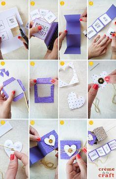 creative homemade valentines day ideas for boyfriend
