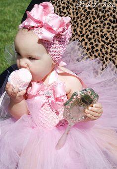 Princess Ruffles Baby Crochet Tutu Dress