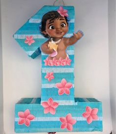 This item is unavailable Moana Birthday Party Theme, Moana Themed Party, First Birthday Parties, Moana Party Decorations, 1st Birthday Girl Decorations, Festa Moana Baby, Bolo Moana, Baby Girl First Birthday, Cupcake Party