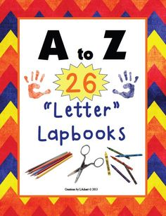 A LAPBOOK for every letter!!
