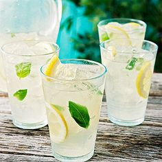 Serve up this Basil Lemonade at your Labor Day party for a refreshing twist on a classic