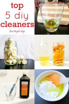 easy diy cleaners