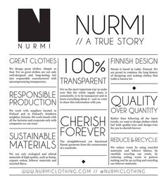Nurmi clothing How To Make Clothes, True Stories, Concept, Simple, Clothing, Design, Clothes, Design Comics