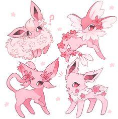 Oc Pokemon, Pokemon Fusion Art, Pokemon Tattoo, Pokemon Eeveelutions, Pokemon Fan Art, Cute Animal Drawings, Kawaii Drawings, Cute Drawings, Cute Kawaii Animals