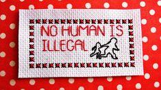Rebecca Roberts on Cross Stitching, Cross Stitch Embroidery, Cross Stitch Patterns, Subversive Cross Stitches, Activist Art, Snitches Get Stitches, Cross Stitch Boards, Textile Fiber Art, Feminist Art