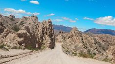 On your way to Cafayate, take a drive through Quebrada de las Flechas (Gorge of Arrows). #Argentina