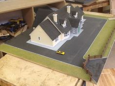 Construction Studies Student House, Scale Models, Woodworking Projects, Study, Construction, School, Building, Studio, Scale Model