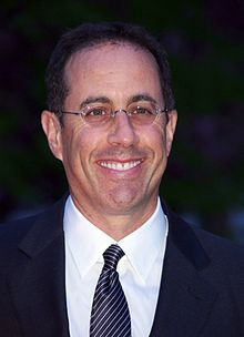 """Jerome Allen """"Jerry"""" Seinfeld[1] (born April 29, 1954) is an American stand-up comedian, actor, writer, and television and film producer, best known for playing a semi-fictional version of himself in the sitcom Seinfeld (1989–1998), which he co-created and co-wrote with Larry David, and, in the show's final two seasons, co-executive-produced."""