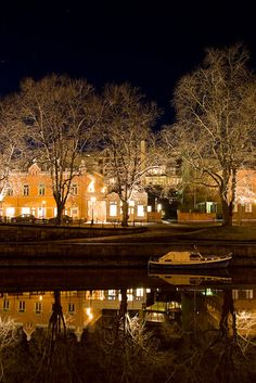 The River Aura, Turku, Finland Helsinki, Finland Destinations, Places To Travel, Places To Go, Turku Finland, Finland Travel, Scandinavian Countries, San Fransisco, Places Around The World