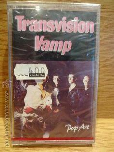 TRANSVISION VAMP. POP ART. MC / MCA RECORDS - PRECINTADO.