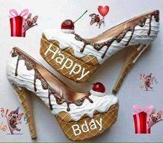 birthday for him Happy Birthday Shoes, Free Happy Birthday, Happy Birthday Elizabeth, Happy Birthday Cupcakes, Birthday Cheers, Happy Birthday Wishes Cards, Happy Birthday Images, Birthday Quotes, Happy Birthday African American