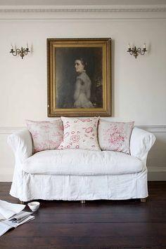 Shabby Chic Interiors, Shabby Chic Homes, Shabby Chic Furniture, Shabby Chic Decor, Vintage Interiors, White Furniture, Furniture Design, Interiores Shabby Chic, Sweet Home