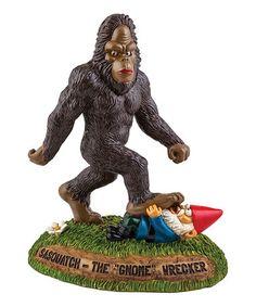 Another great find on #zulily! Sasquatch The Gnome Wrecker Garden Décor by Big Mouth #zulilyfinds