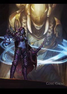 Art Warcraft, World Of Warcraft Game, Warcraft Movie, Warcraft Heroes, Banshee Queen, Black Queen, Overwatch, Blizzard Warcraft, Sylvanas Windrunner