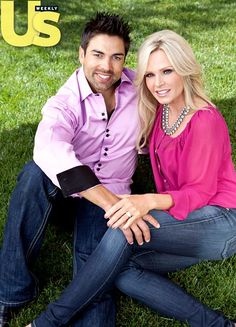 Eddie Judge and Tamra Barney from the housewives of OC