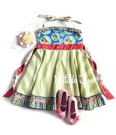 Limeade Ellie Roundabout Dress $ 52-54 18mths - 10~ It's A Wonderful Parade sz 2