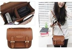 Retro Leather Camera Case Bag For Fujifilm Polaroid Instax Mini8 90 50 7S 25s