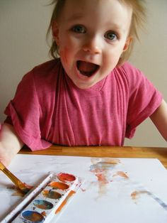 The Complete Guide to Imperfect Homemaking: Painting Smocks from Old T-shirts