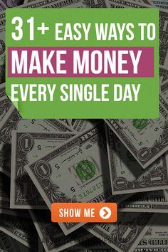 31 Fash cash idea to help you make money today. Discover the sneaky little secret method to earn quick can fast money today. I Need Money Now, Ways To Get Money, Make Quick Money, Make Money Today, Make Money Blogging, Make Money From Home, Make Money Online, Earn Money, Money Fast