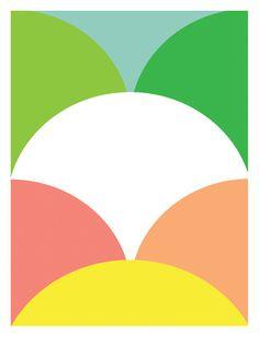 Abstrakte Kunst: Pastell Prints bei AllPosters.de