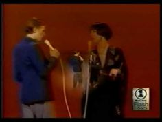 David Bowie duet with Cher 1975 - Can You Hear Me - via YouTube
