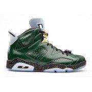 Cheap Air Jordan 6 Retro Pure Green/Metallic Gold-Chilling Red-Black Online $229.00  http://www.theblueretros.com