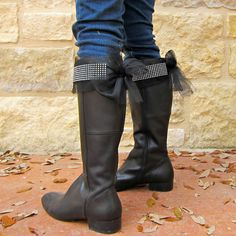 """morena's corner: How to add Bling to Your """"Blah"""" Boots"""