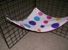 items similar to corner hammock for small animals guinea pigs rats etc  mto guinea pig  rat  chinchilla 2 layer fleece hammock   over 70      rh   pinterest