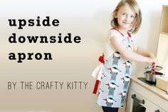 Upside Downside Reversible, Kid's Apron