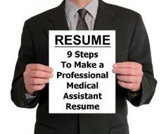 A great guide to writing a Medical Assistant Resume