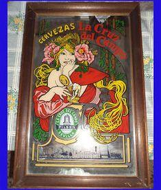 a tg espejo cartel cervezas la cruz del campo art nouveau modernista alphonse mu - Categoria: Coleccionismo  Estado del Producto: sin especificar VER SIMILARESPrice: 99,00 EUR Ver Producto
