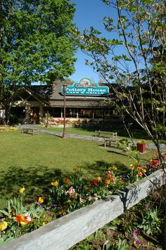 Restaurant Review of The Old Mill Pottery House Cafe and Grille in Pigeon Forge, TN