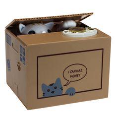 Cat Money Box   getDigital