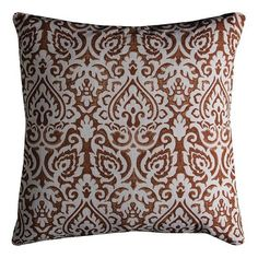 """Paisley Floral 22"""" Pillow ($30) ❤ liked on Polyvore featuring home, home decor, throw pillows, damask throw pillows, paisley home decor, floral toss pillows, paisley throw pillows and flowered throw pillows"""
