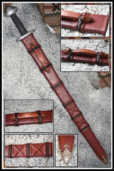Viking Sword Scabbard by VendelRus on @DeviantArt