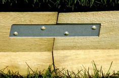 Finish Off Flower Beds in Style With Landscape Timbers: Using Mending Plates, Plus an Idea for Landscape-Timber Raised Beds