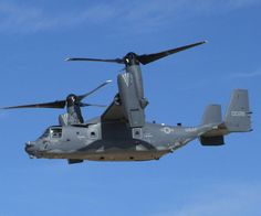 The Bell Boeing V-22 Osprey is an American multi-mission, tiltrotor military aircraft with both a vertical takeoff and landing (VTOL), and short takeoff and landing (STOL) capability. It is designed to combine the functionality of a conventional helicopter with the long-range, high-speed cruise performance of a turboprop aircraft.