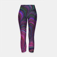 Printed Yoga Pants, Summer Breeze, Workout Wear, Comfy, Stylish, How To Wear, Fashion, Moda, Fashion Styles