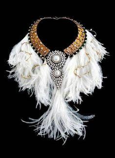 ♔ Chanel collar